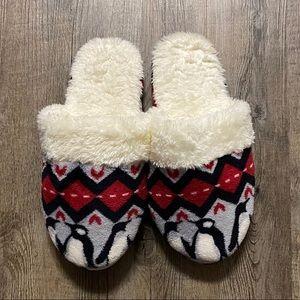 Vera Bradley Penguin Slippers